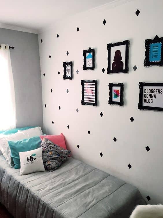 decoração simples e barata quarto