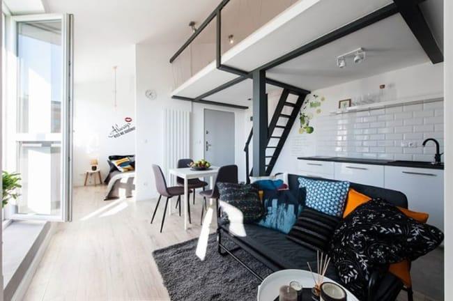 decoração simples apartamento pequeno