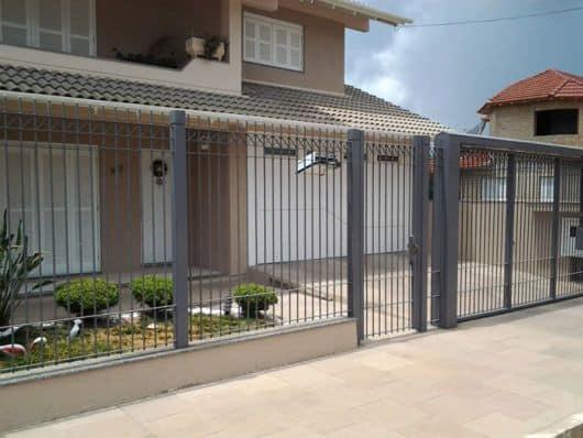 portão e grade de ferro