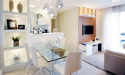 decoração clean apartamento
