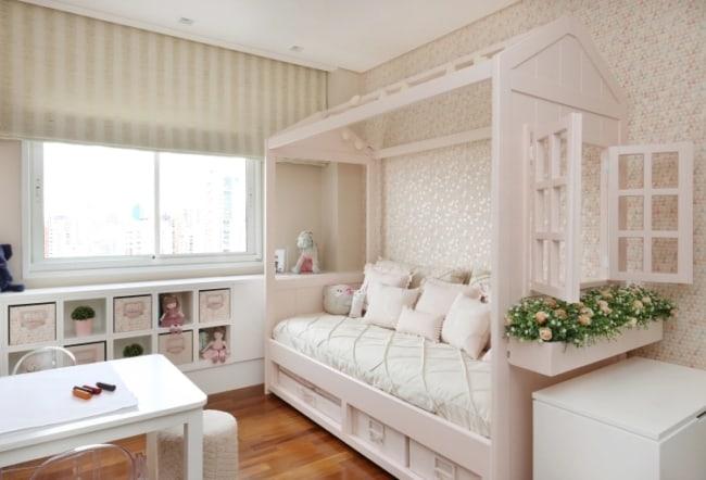 decoração quarto com cama casinha