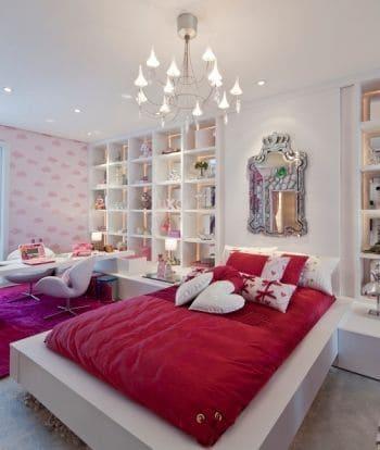 quarto moderno e de luxo