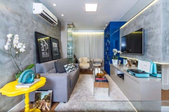 decoração moderna para apartamento pequeno