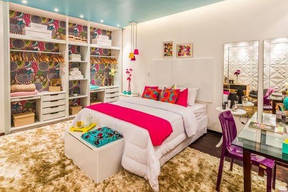 quarto luxuoso