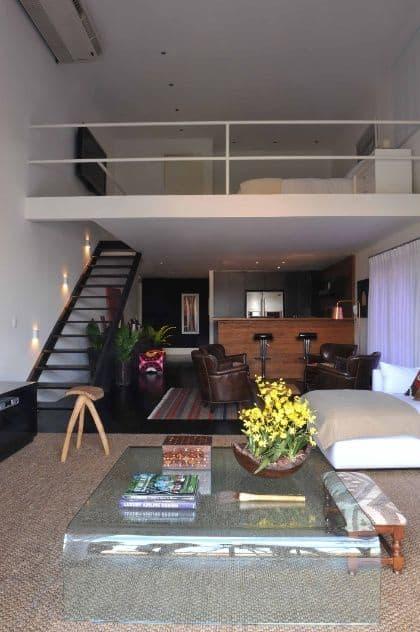decoração clean e moderna para loft