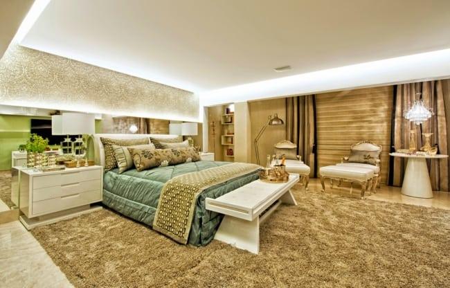 decoração quarto de luxo