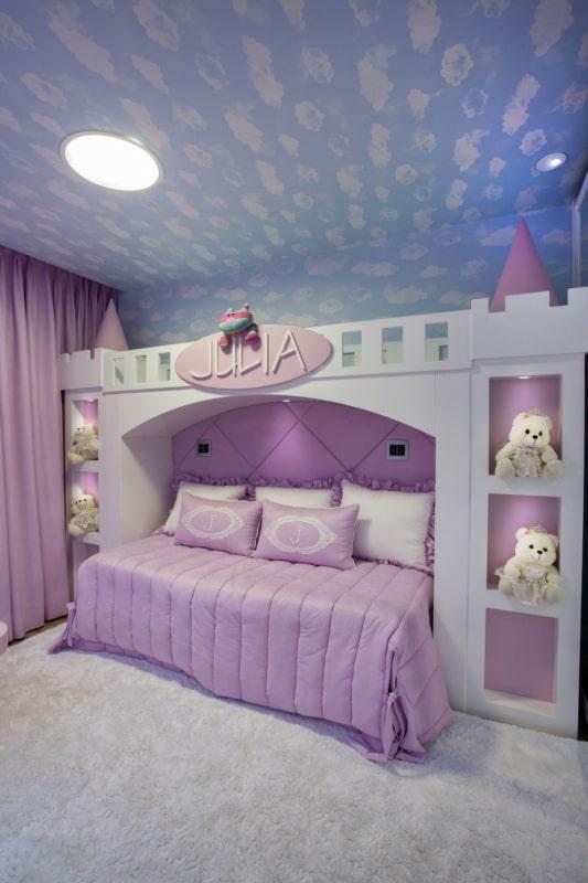 quarto com cama de castelo
