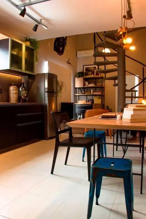 cozinha masculina decorada