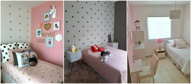 quarto de menina com decoração simples