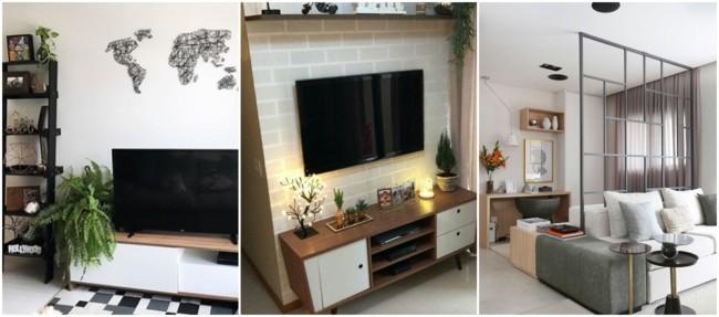 ideias de decoração para sala