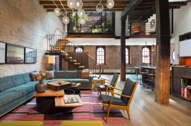 decoração rústica e industrial