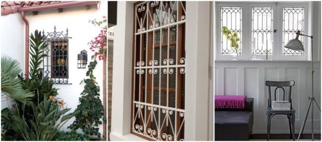 modelos de grade para janela
