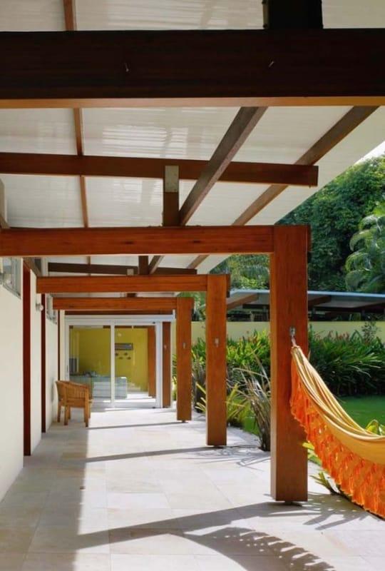 varanda coberta simples
