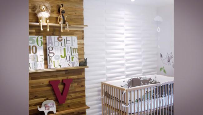 Cerâmica 3D para quarto infantil