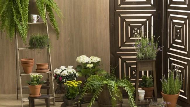 Dicas de floreiras de chão de madeira