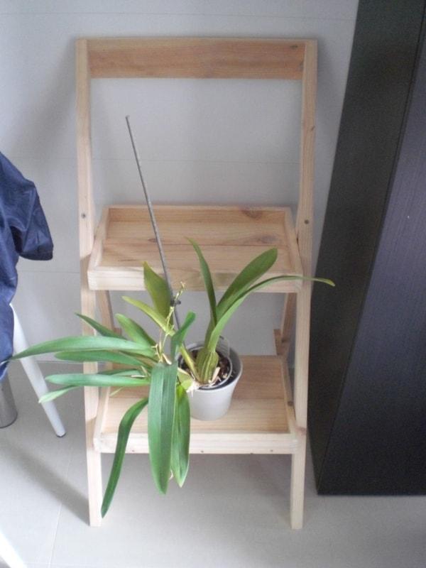 Floreira minimalista tipo escada