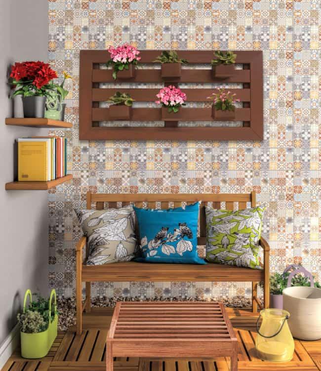 Floreira para jardim vertical