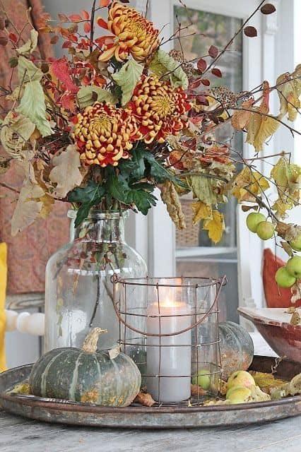 Flores do campo para decoração rústica