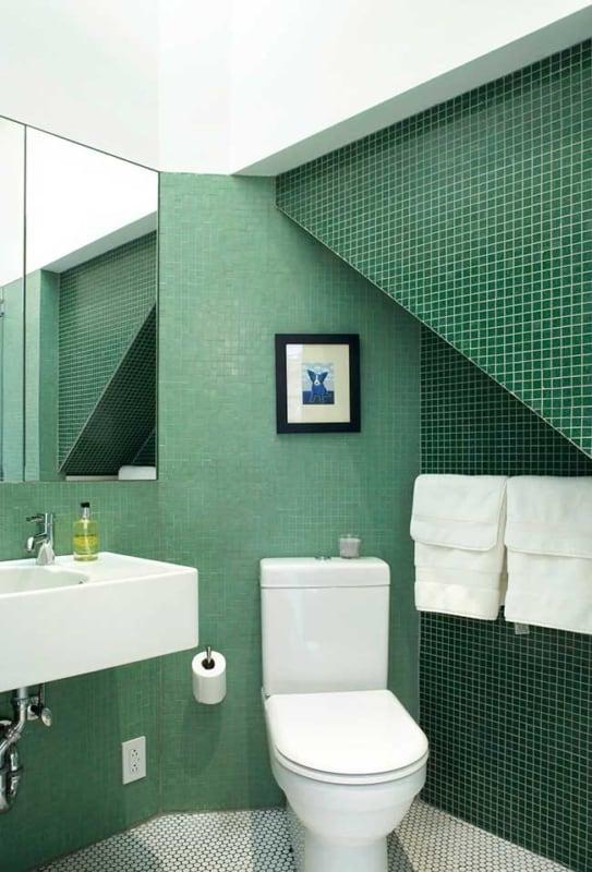 Lavabo verde