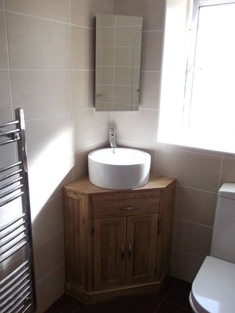 Pia de canto para banheiro