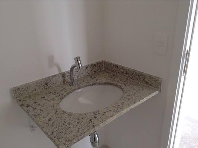 Pia de granito para banheiro