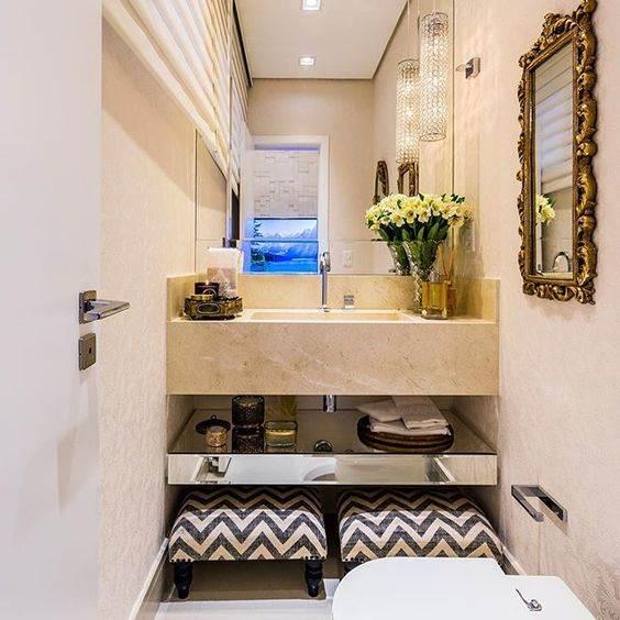 Pia de mármore para lavabo