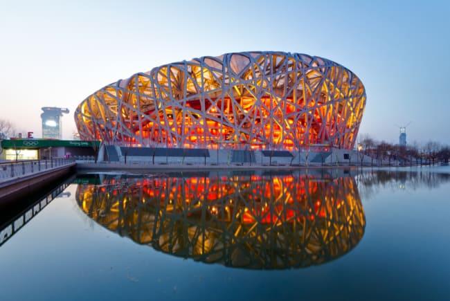 Projetos arquitetônicos famosos ninho do passaro