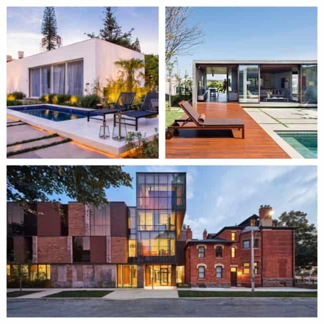 Projetos arquitetônicos modernos