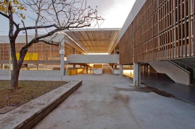 Projetos arquitetônicos para acessibilidade escola de votorantim