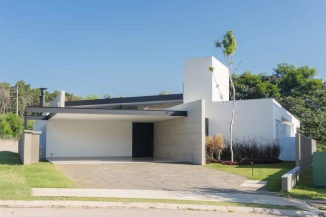 Projetos arquitetônicos residenciais casa jabuticabeiras