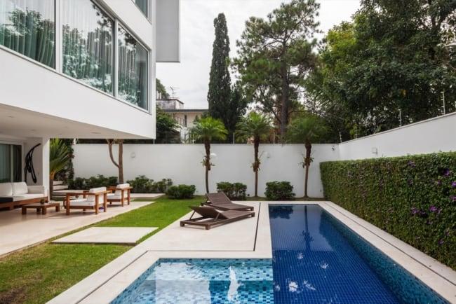 Projetos arquitetônicos residenciais casa ml