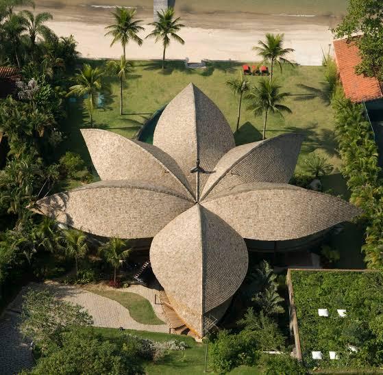 Projetos arquitetônicos sustentáveis casa folha