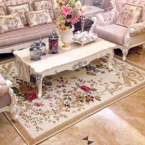 Sala com estilo clássico