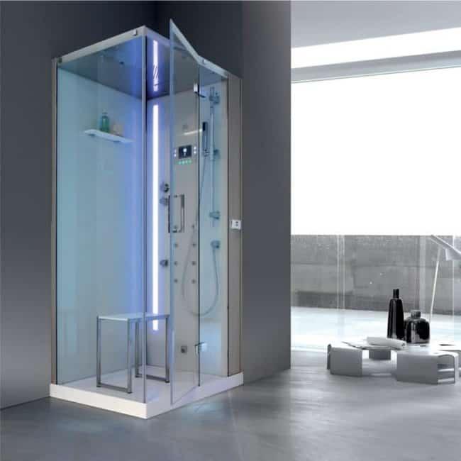 cabine compacta para banho