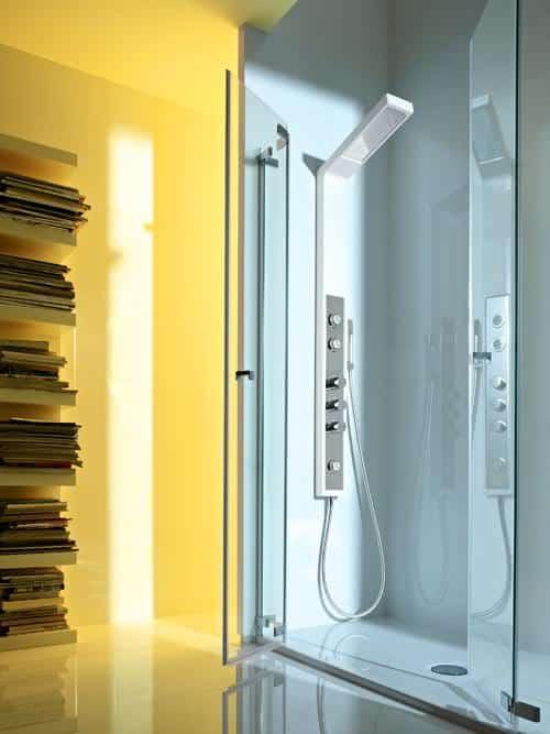 cabine de banho compacta