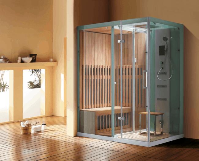 cabine de banho estilo moderno