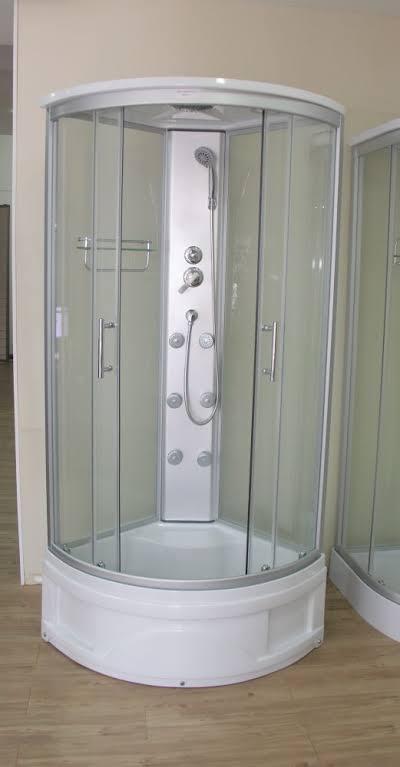 cabine de banho fibra