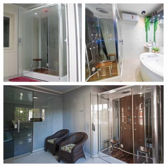 cabine de banho ideias