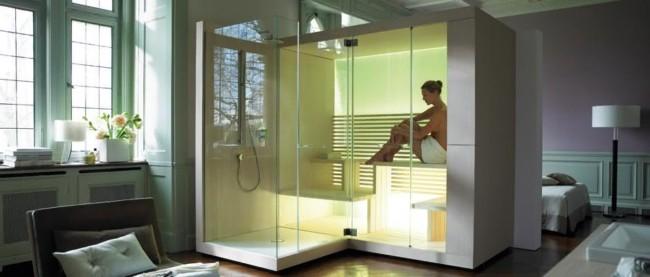 cabine de banho moderna ideias