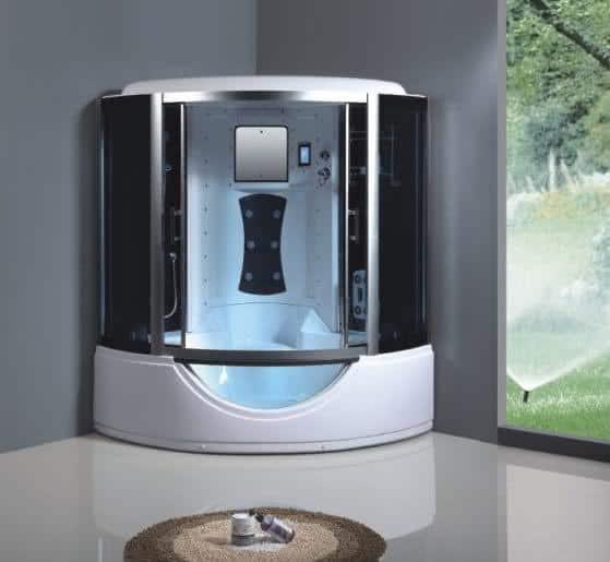 cabine de banho moderna linda