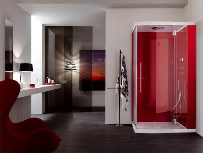 cabine de banho moderna