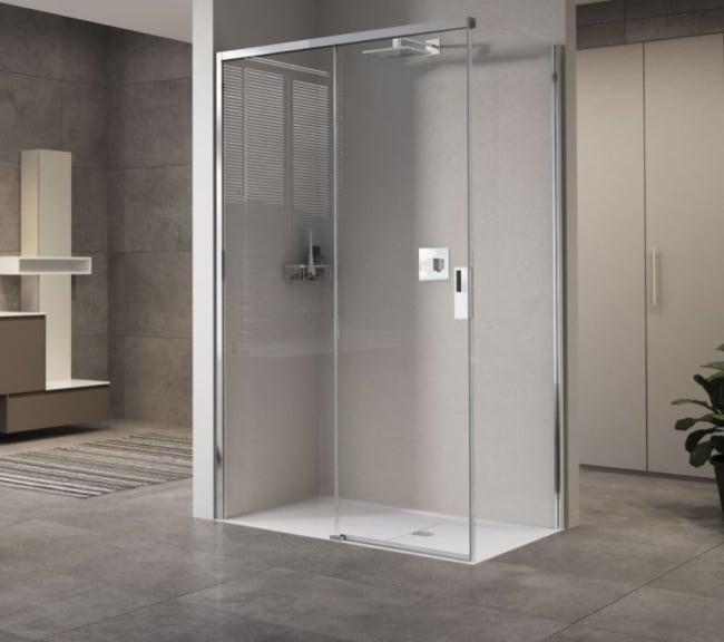 cabine de banho simples metalica
