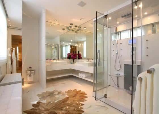 cabine de banho simples