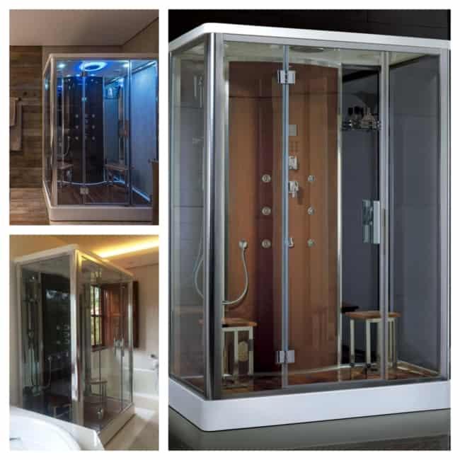 cabine de banho