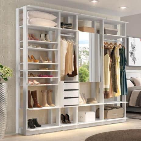 closet modulado MDF feminino