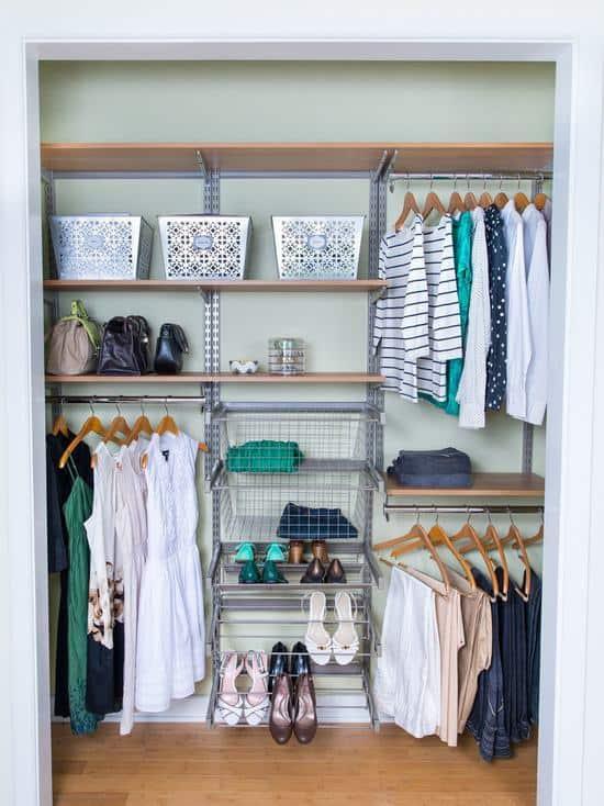 closet modulado aramado para mulheres