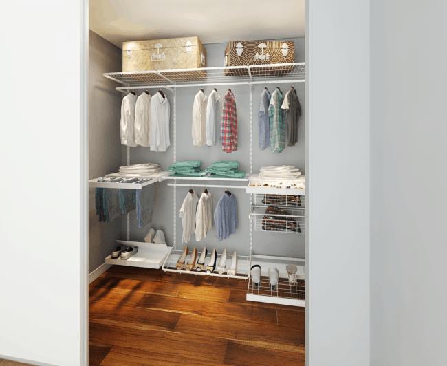 closet modulado aramado pequeno