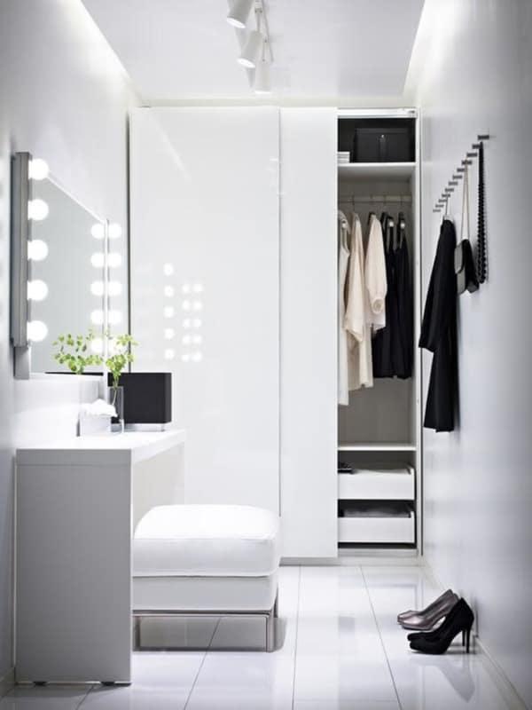 closet modulado com porta pequeno