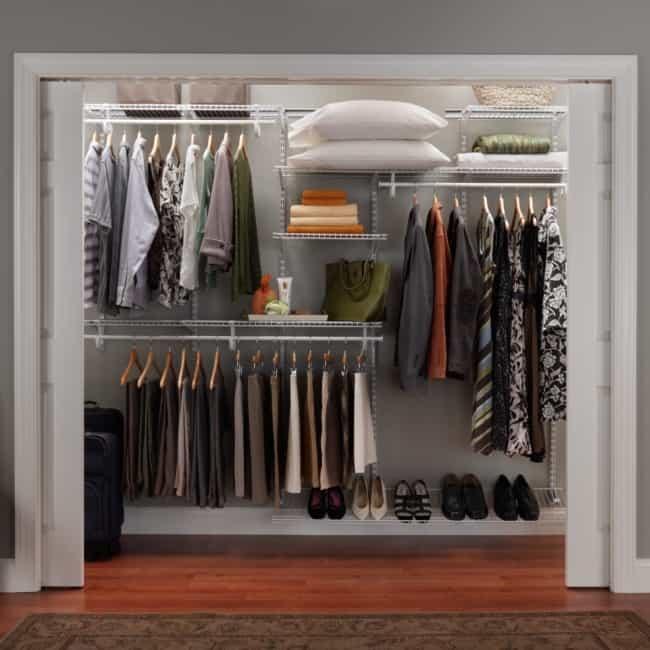 closet modulado com portas