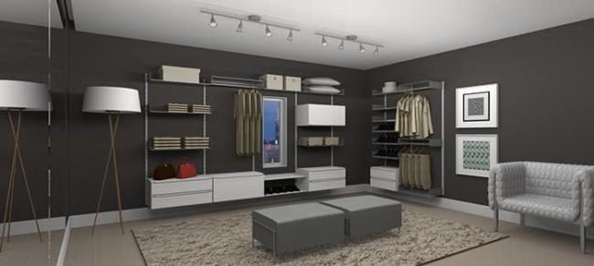 closet modulado de MDF